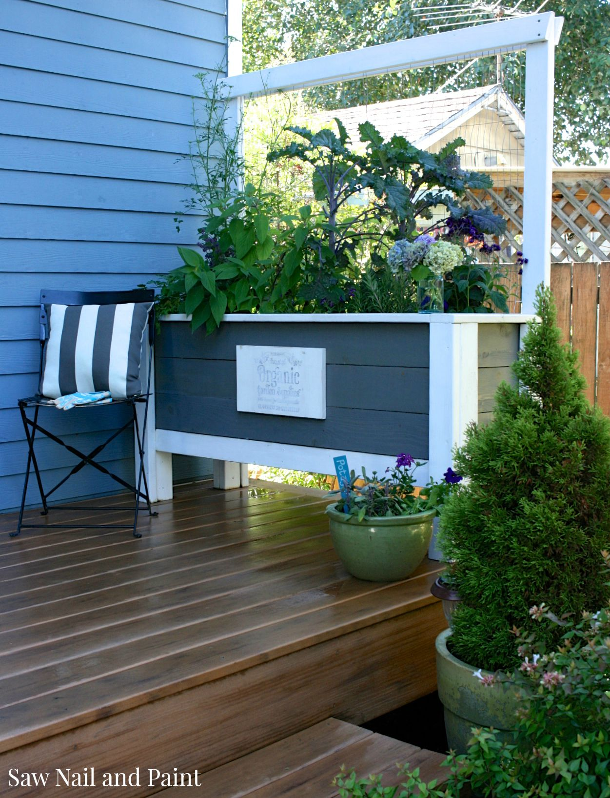 Deck Planter Box 7 Jpg Saw Nail And Paint